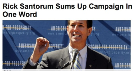 7 Things That Rick Santorum Has in Common With Cheese