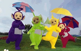 Television TELETUBBIES.