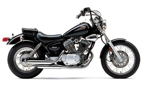 Lg+Yamaha_Virago_250+Right_Side_View_Black