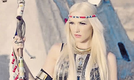 Gwen Stefani in No Doubt's Looking Hot video